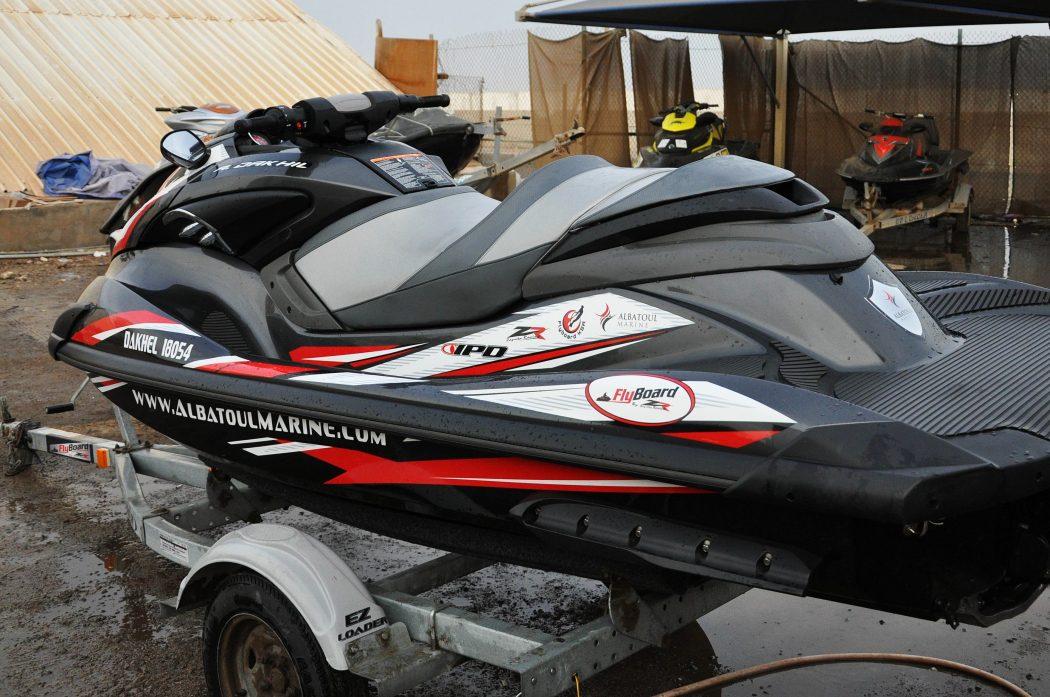 GK-AM-FZR installed on Albatoul Marine's Yamaha FZR