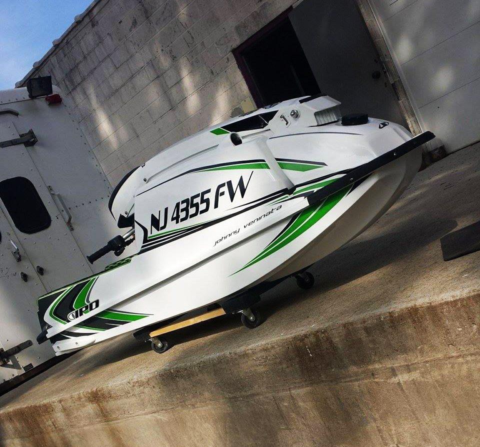 GK-JS-4550 installed on Vincent Veninata's 550