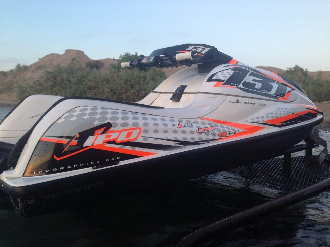 GK-NS-SXR installed on the Kawasaki SXR