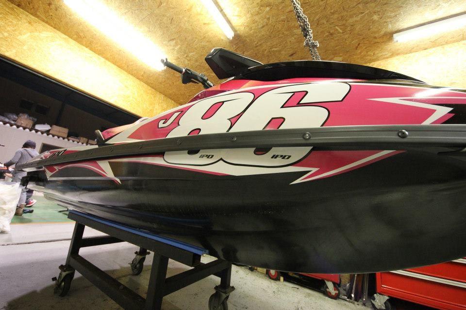 GK-SC-GTI-GTR-GTS installed on the Success Co Race Team Skis