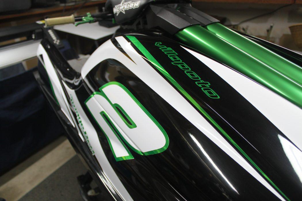 GK-TO-SXR installed on Ryan Villopoto's Kawasaki SXR