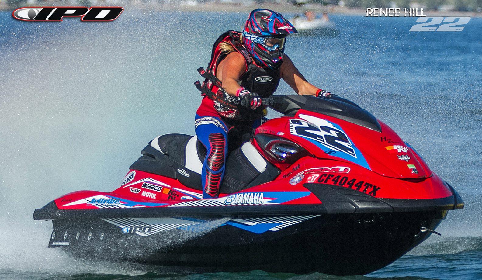 Ipd jet ski graphics race inspired jet ski graphics for Yamaha jet skis