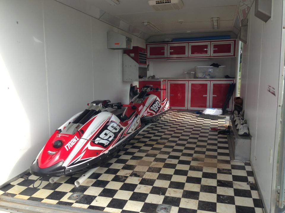 GK-EF-SXR installed on Mike Wendricks' Kawasaki SXR
