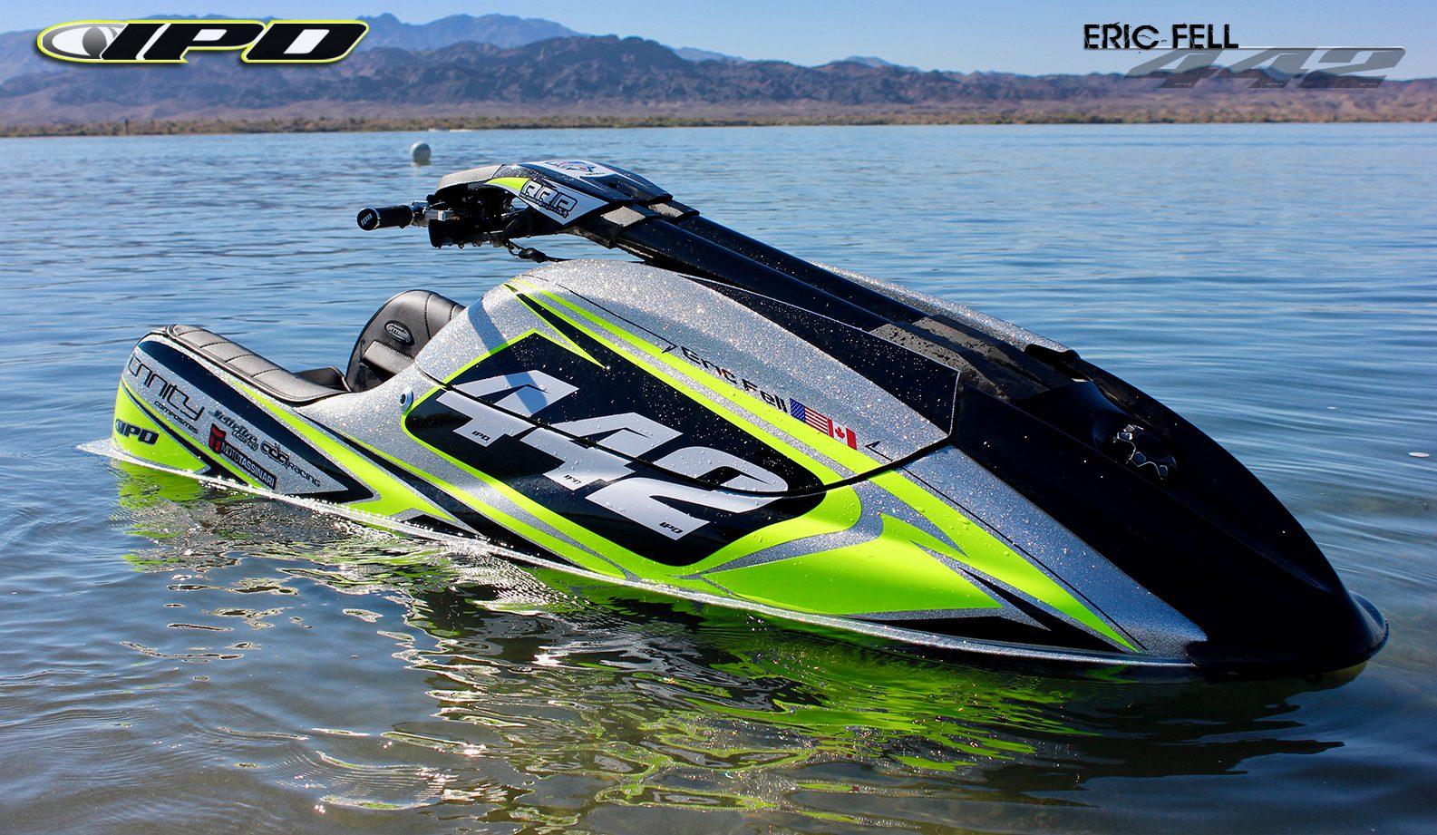 GK-EF-SXR installed on Eric Fell's Kawasaki SXR