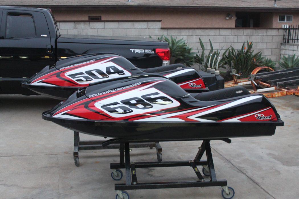 GK-EF-SXR installed on Todd Cosetti's Kawasaki SXR