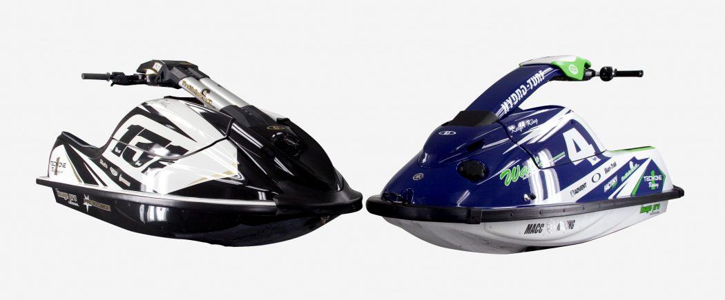 GK-TO-SJ installed on Keifer King's Yamaha SuperJet