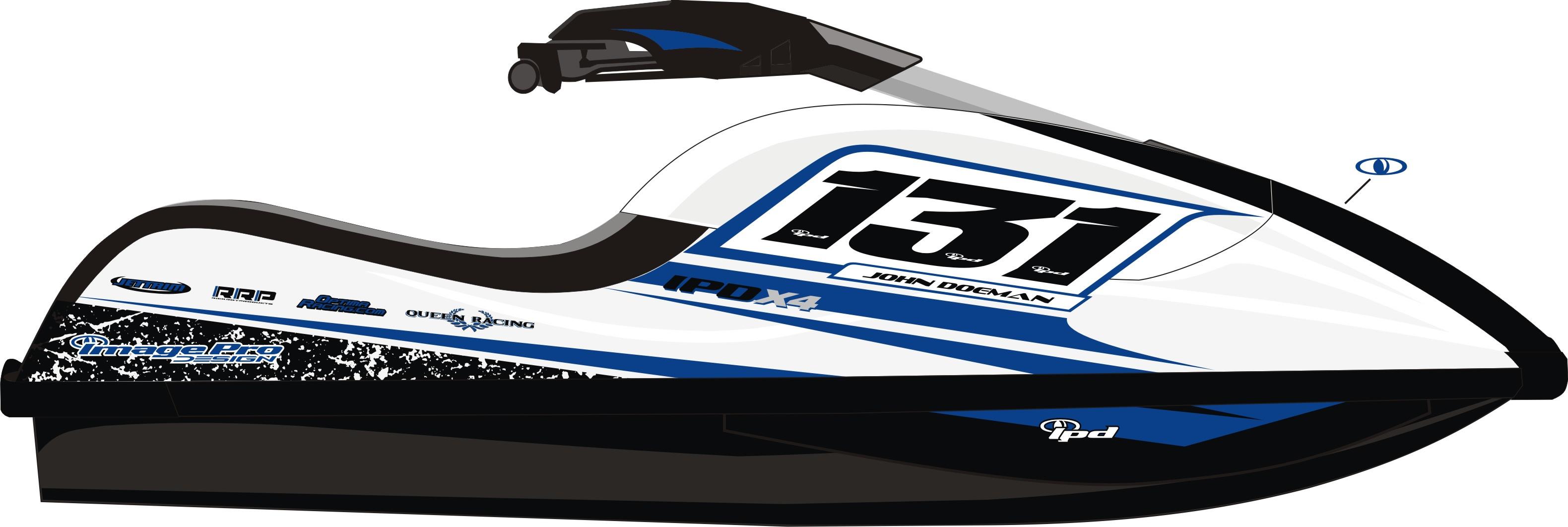 Kawasaki 800 SXR X4 Phantom Design Graphics Kit