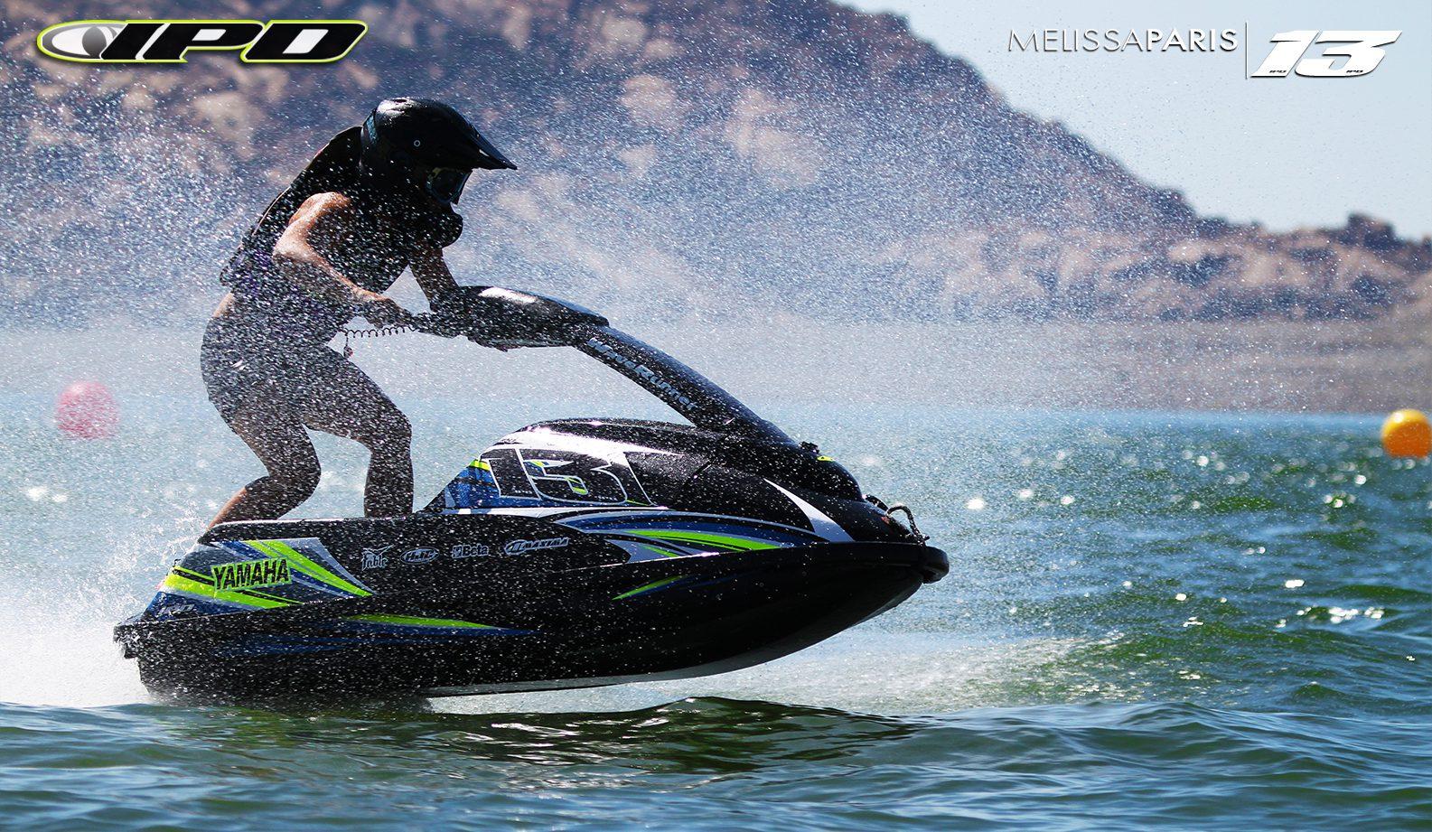 GK-JS2-SJ installed on Melissa Peris' Yamaha SuperJet