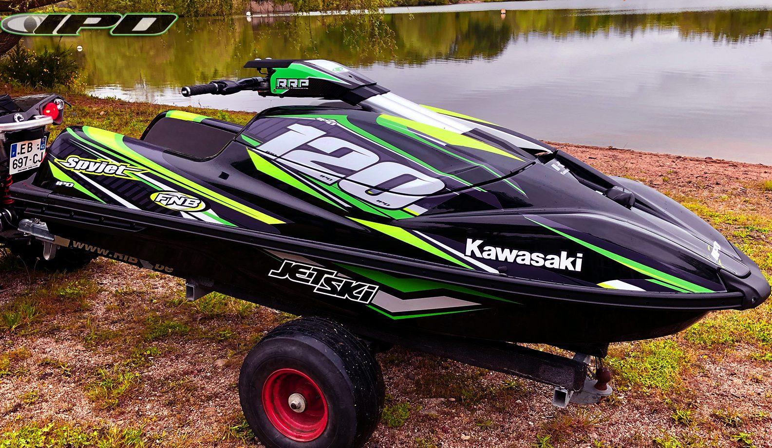GK-BK-SXR4 installed on the Kawasaki SXR 1500