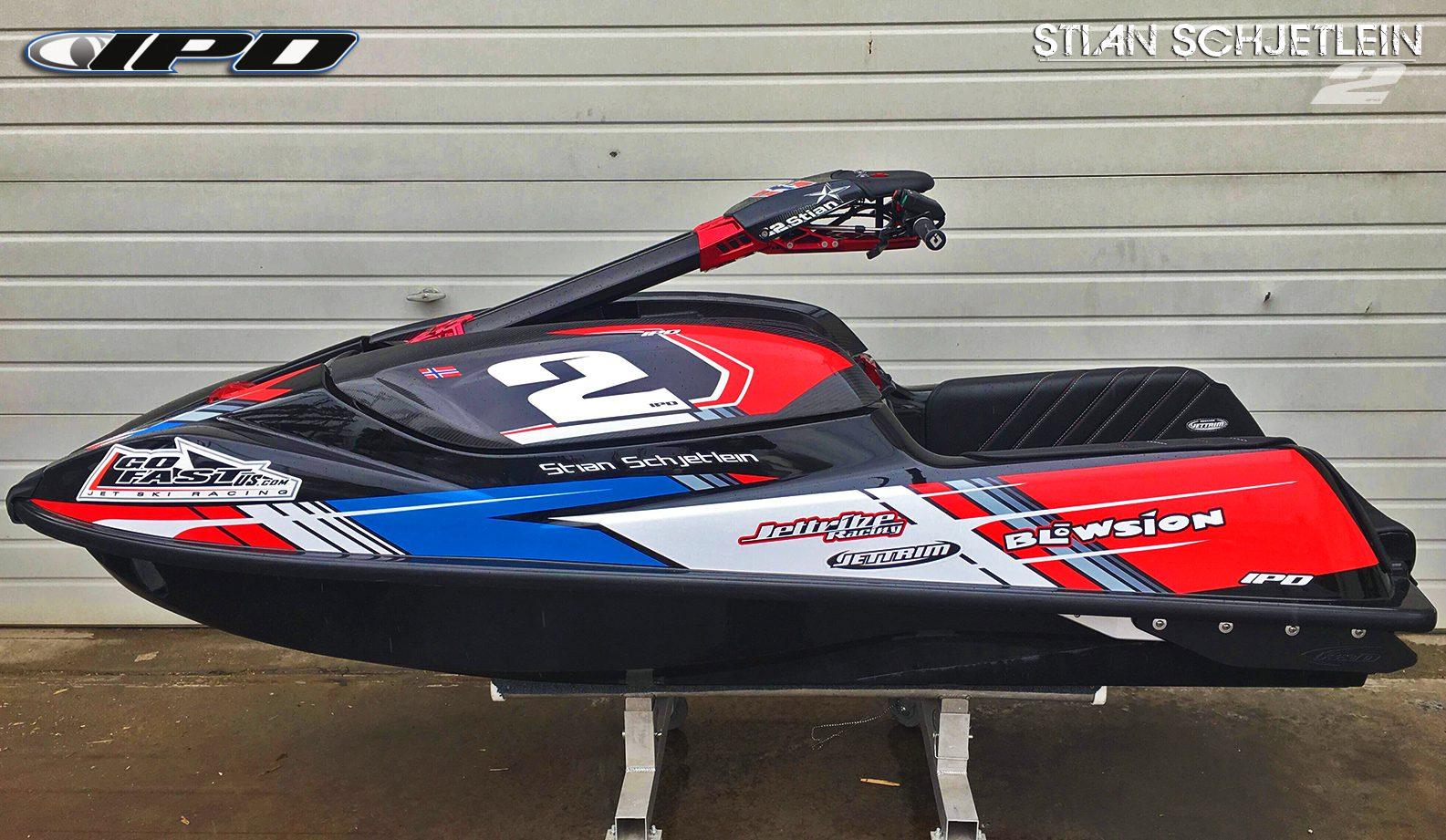 GK-RM-SXR4 installed on the Kawasaki SXR 1500