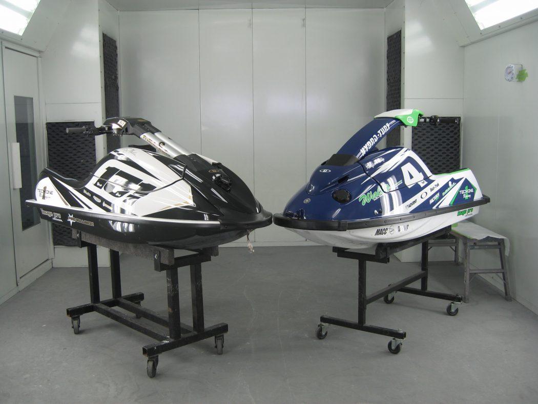 GK-TO-SXR installed on an IPD Kawasaki SXR