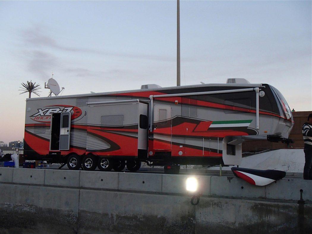 XBJ Racing Trailer Wrap Design