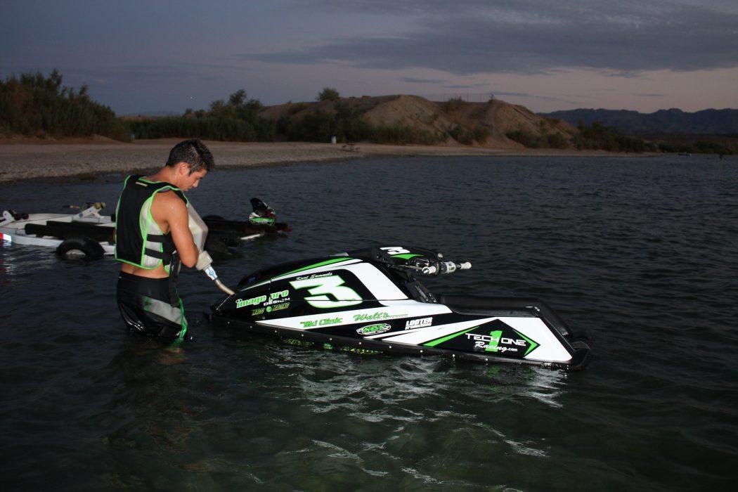 GK-TO-SJ installed on Kurt Samuels' Yamaha SuperJet