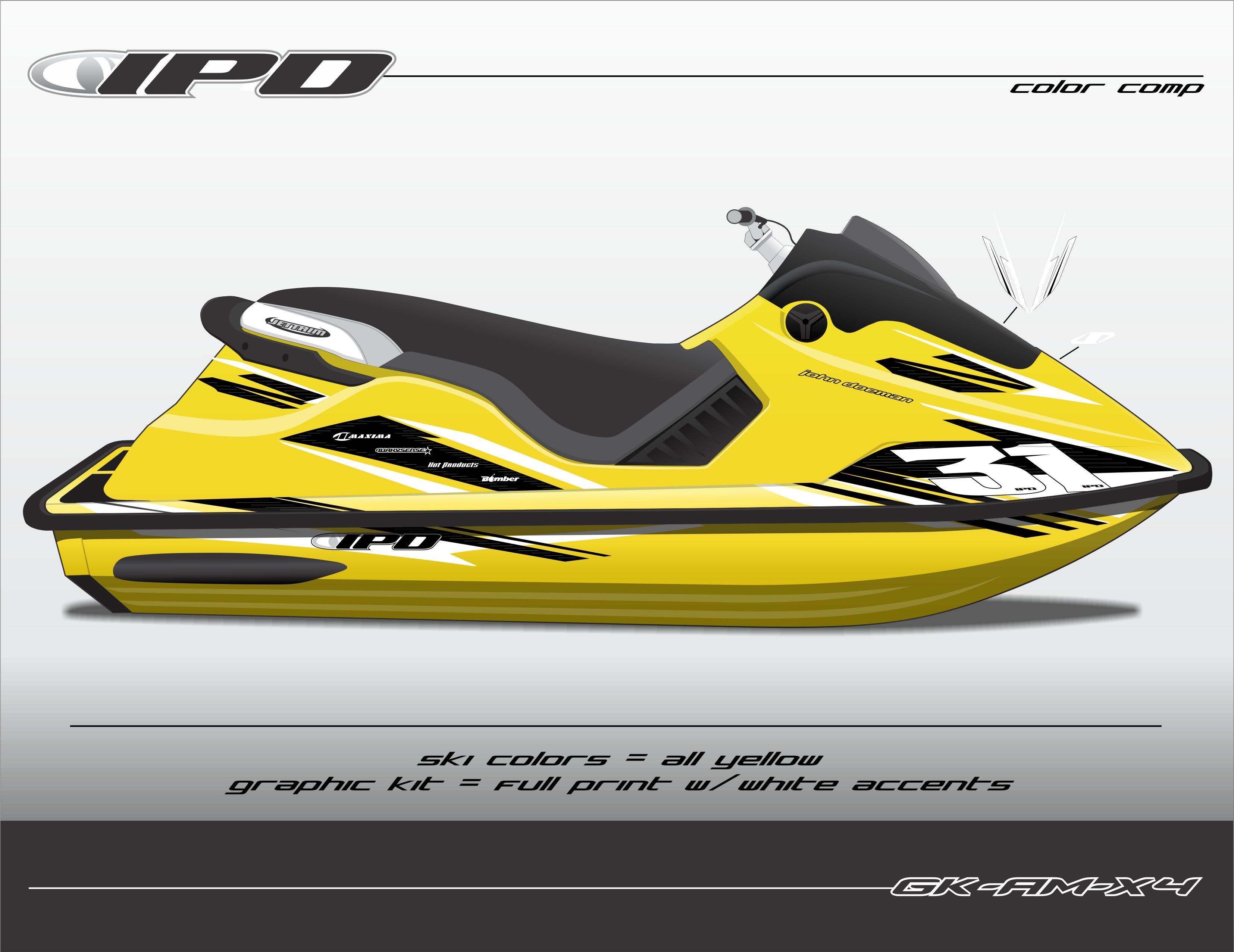 sea doo spx xp graphics kit am design ipd jet ski graphics. Black Bedroom Furniture Sets. Home Design Ideas