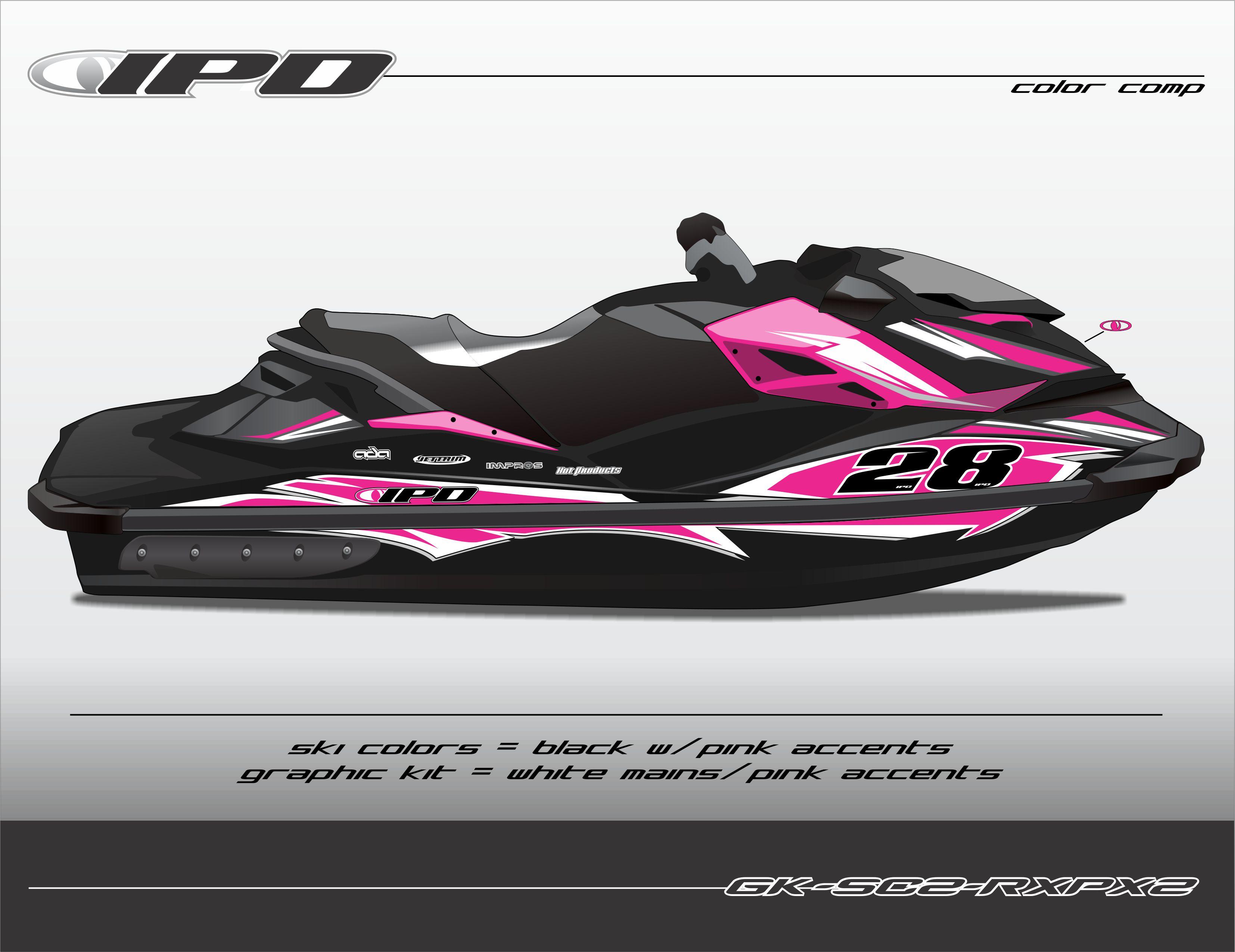 Yamaha Jet Ski For Sale >> Sea-Doo RXP-X 260 & 300 Graphics Kit (SC2 Design) – IPD ...
