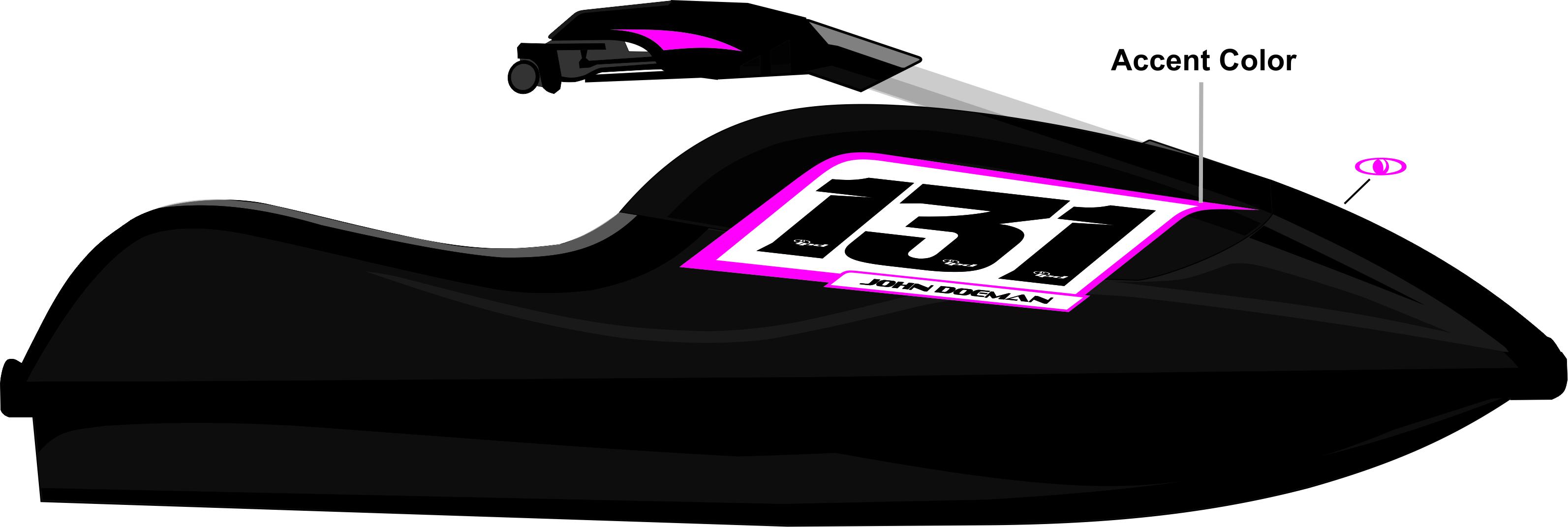 Kawasaki X Jet Ski Graphics