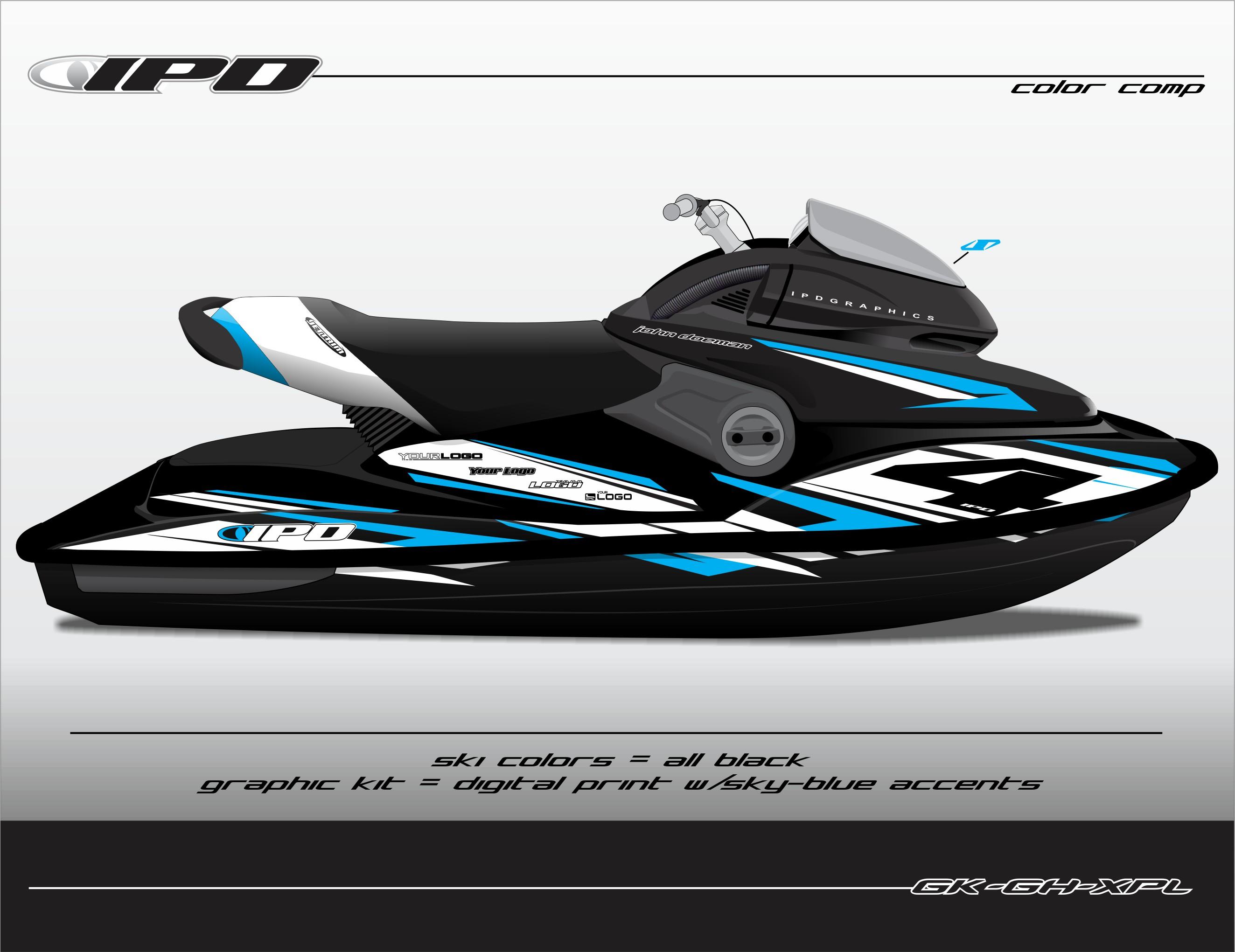 Sea Doo Xp Limited Graphics Kit Gh Design Ipd Jet Ski