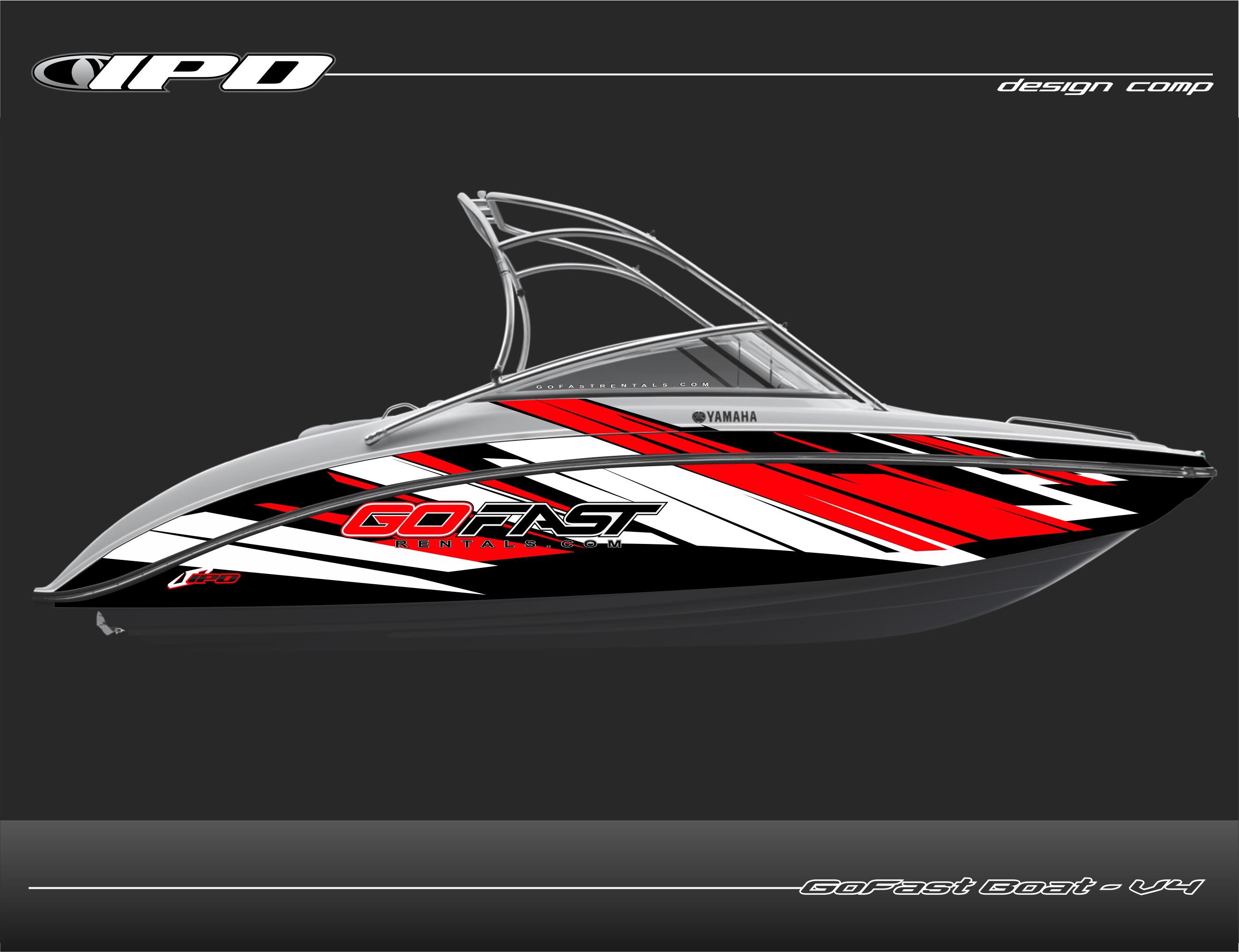 Yamaha Boat Wraps