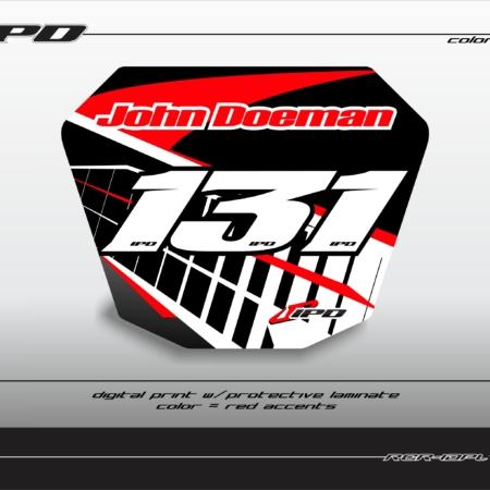 Racer ID Plate (KC)