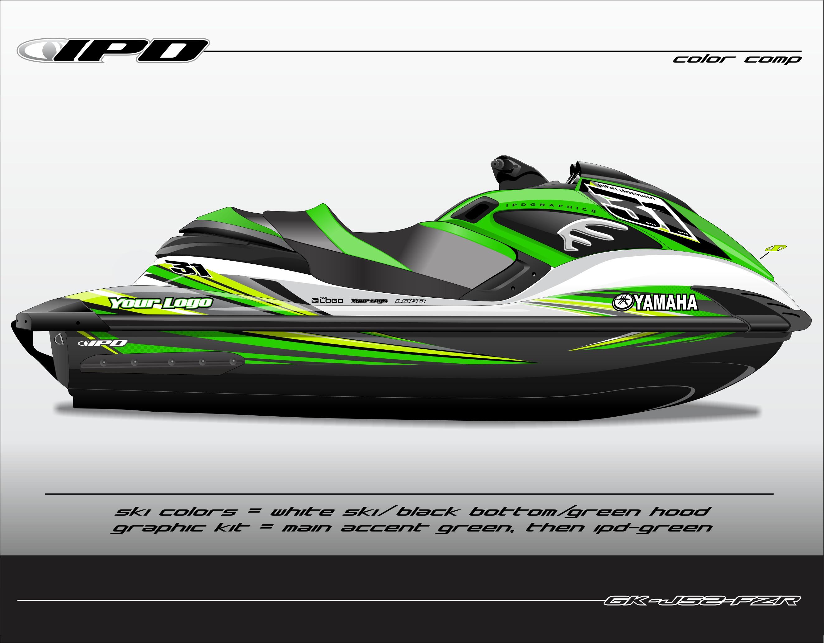 Yamaha Fzr Fzs Js2 Design Graphics Kit